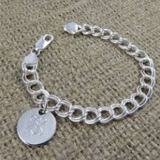 Sterling Silver Monogram Bracelet Sterling Silver Monogrammed Necklace The Best Gifts For Her