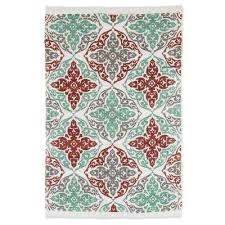 Damask Round Rug Lavish Home Area Rugs Rugs The Home Depot