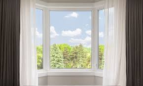 best way to hang curtains photo of bay window curtain rodi blinds how to put curtains on a