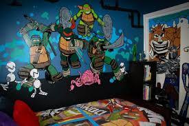 Ninja Turtle Wall Decor Ninja Themed Bedroom Memsaheb Net