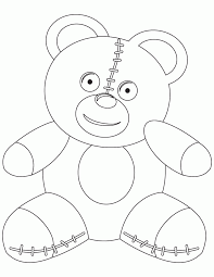 teddy bears colouring pages coloring home