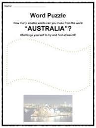 australia facts worksheets u0026 information for kids