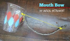 Musical Instruments Crafts For Kids - relentlessly fun deceptively educational mouth bow musical