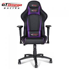 Purple Chair Uk Gt Omega Pro Racing Office Chair Leather Stock Arriving End Of