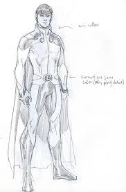 the dc comics sketch gallery of redesigned characters from the new