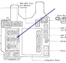 1997 lexus es300 fuse box location lexus wiring diagrams for diy