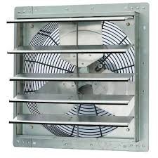shutter exhaust fan 24 iliving 2600 cfm power 18 in single speed shutter exhaust fan