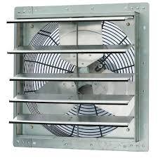 home depot exhaust fan iliving 2600 cfm power 18 in single speed shutter exhaust fan