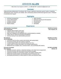 Example Administrative Assistant Resume by Administrative Assistant Administration Office Support Resume