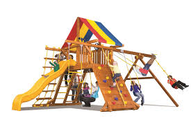 Rainbow Playset Rainbow Play Swing Sets Style Castle Style