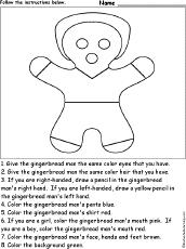 the gingerbread man enchantedlearning com