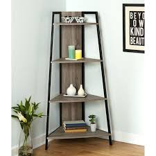 iron bookcase wood shelves retro iron cross brace metal display