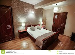 interior of luxury modern hotel room royalty free stock image