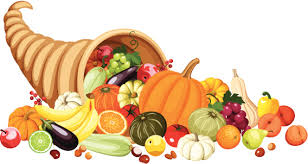 thanksgiving clipart cornucopia pencil and in color thanksgiving
