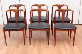 johannes andersen rosewood dining chairs an orange moon uber