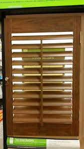 Lowes Shutters Interior Best 25 Faux Wood Plantation Shutters Ideas On Pinterest Window