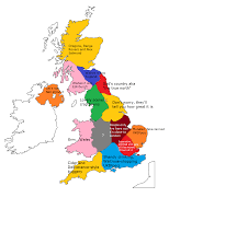Map England by How North Londoners View The Rest Of The Uk Or Why The Rest Of The
