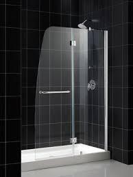 30 Shower Door Dreamline Aqua Frameless Hinged Shower Door And Slimline 30 By 60