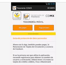 pago de tenencia 2014 df paga tenencia o predial con la app tesorería cdmx celular actual