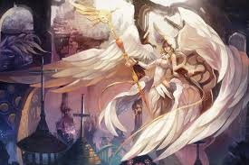 angel decorations for home decoration angels mage staff fantasy girls angel living room home