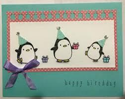 penguin birthday card gangcraft net