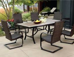 Patio Dining Sets Walmart Patio Furniture Dining Sets Artrio Info