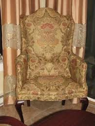 Furniture Upholstery Nj Vintage Platform Rocking Chair Refinished With A Heavy Hanging