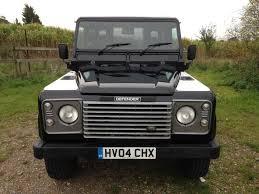 land rover defender 110 2016 2004 land rover defender 90 xs county station wagon black j hollick