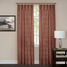 Triple Window Curtains Achim Semi Opaque Buffalo Check Black Poly Cotton Window Curtain