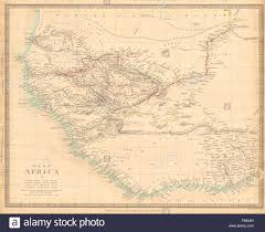 Map Of West Africa by West Africa Showing Early Explorers U0027 Routes U0026 Mountains Of Kong