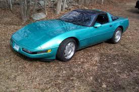 1991 corvette colors 1991 corvette zr1 color teal