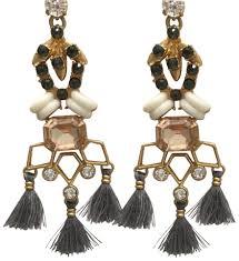 Tory Burch Beaded Chandelier Earring Stella U0026 Dot Nila Chandeliers Earrings Tradesy