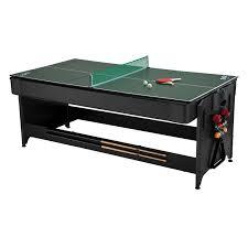 atomic 2 in 1 flip table 7 feet fat cat 7 ft black pockey table billiard air hockey table