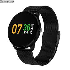blood pressure bracelet images Senbono cf007h ips led color screen fitness smart bracelet heart jpg