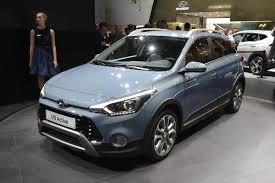 Hyundai I20 Active Rivals The Sandero Stepway In Frankfurt 2015