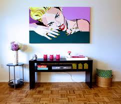 Modern Pop Art Style Apartment by Modern Pop Art Style Apartment With Great House Painting Images