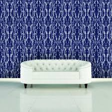 wall decor wonderful tempaper wallpaper in mystery blue design