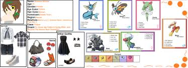 pokemon trainer bio rihanna by whiteandnerdykitten2 on deviantart