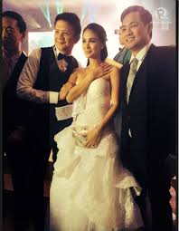 in photos heart evangelista in all her stunning wedding dresses