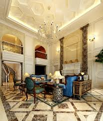 beautiful european style living room ceiling renovation renderings