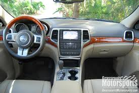 jeep summit interior 2012 jeep grand cherokee overland summit new car reviews