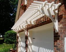 Trellis Construction Garage Simple Pergola Ideas Small Pergola Attached To House