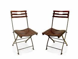 buy amos foldable outdoor chair in teak and metal u2013 purplestem