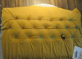 how to make your own headboard with buttons home design ideas make your own headboard foam board