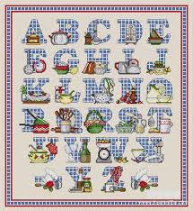 point de croix cuisine 2 go cross stitch chart kitchen alphabet