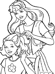 barbie coloring pages a4 coloring pages wallpaper