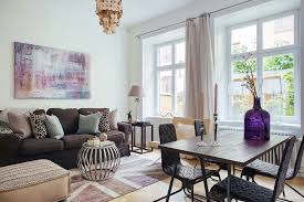 Small  M Swedish Style Apartment With Eye Catching Details - Swedish apartment design