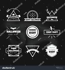 png no background halloween logo halloween vector illustration halloween logo design stock vector