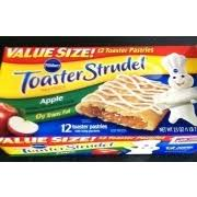 Pillsbury Toaster Strudel Apple Flavored Toaster Pastries