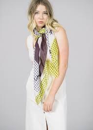 baum und pferdgarten baum und pferdgarten printed silk scarf garmentory